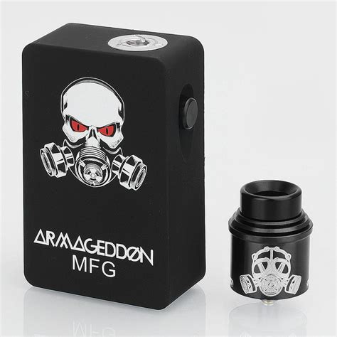 Apocalypse Mechanical Mod Kit Best Product armageddon style black 6ml squonk box mod apocalypse style rda kit