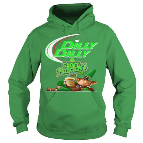 Hoodie Dilly Dilly 4 dilly dilly s day leprechaun shirt hoodie sweater