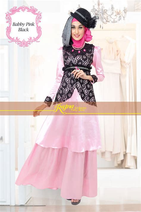 model baju bordir pesta koleksi zalora terbaru 2015 model gaun muslim 2014 model gaun pesta muslim modern baju