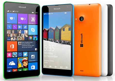 Microsoft Lumia 535 Dual Sim microsoft lumia 535 and lumia 535 dual sim with 5 inch qhd display 5mp front announced
