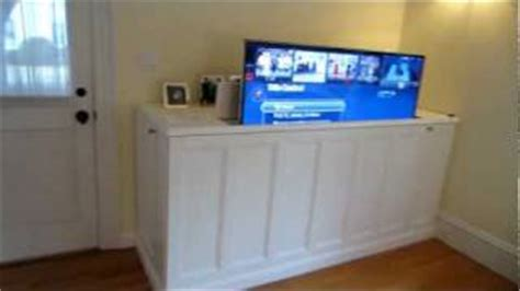 tv cabinets with hydraulic lifts home car lift equipment