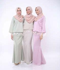 Ruffle Bell Sleeves Blouse Muslim Atasan Baju Wanita Rosemary pin by ija ija on g baju kurung kebaya and delivery