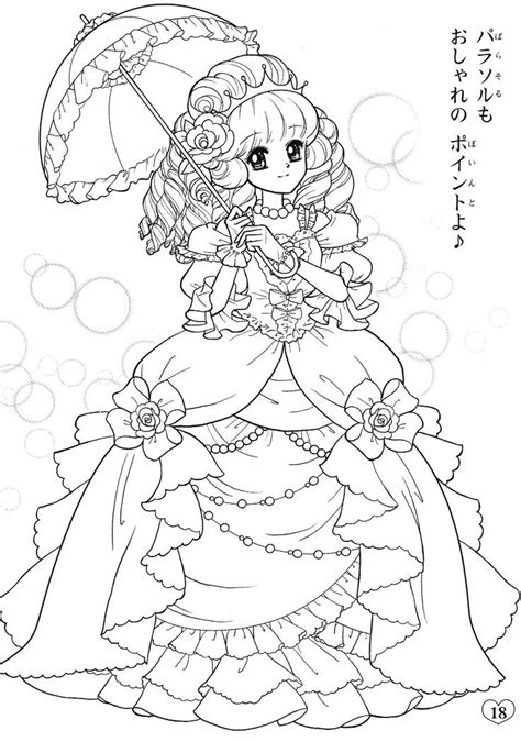 anime coloring 1000 images about coloring pages shojo anime on