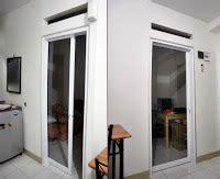 B Rel Lemari Sliding Geser Dua Pintu Kt46 vizero kontraktor spesialis aluminium composite panel dan kaca tempered pintu sliding geser