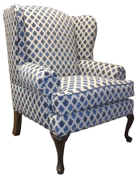 Custom traditional wingback chair by access designer decor custommade com
