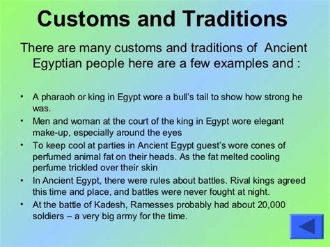 my egypt assignment