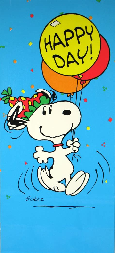 happy day animated snoopy clown gift bag happy day snoopn4pnuts