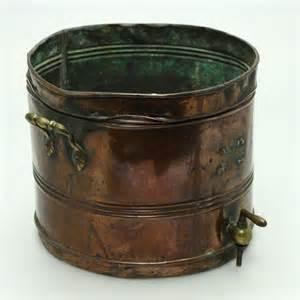 antique copper brass urn plant pot planter ebay