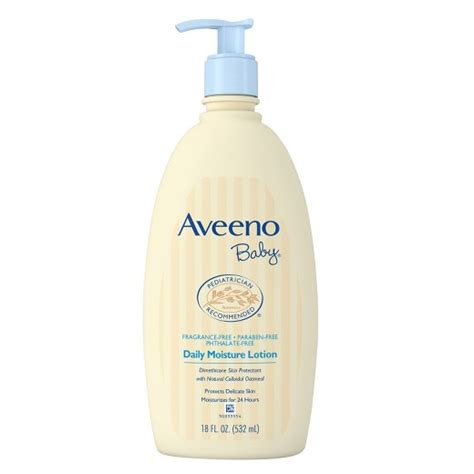 Baby Lotion aveeno baby daily moisture lotion 18 oz target