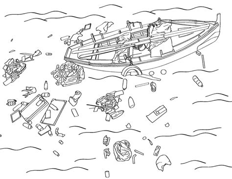coloring pages of water pollution image download