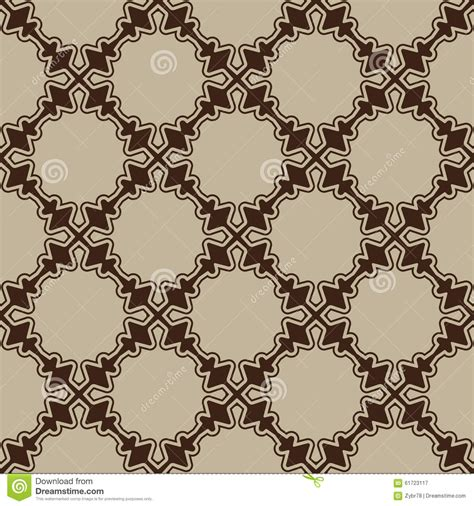 simple pattern brown brown seamless pattern stock vector image 61723117