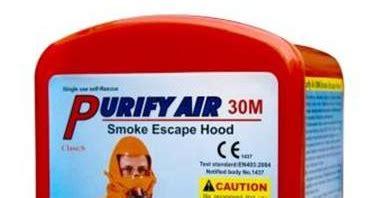 Lu Emergency Gedung alat keselamatan kerja smoke purify air 30m