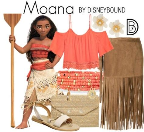 disney bounding as princess moana and friends | elly and