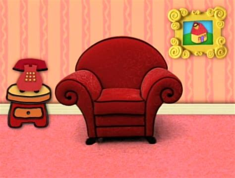 blues clues couch remember thinking chair this is it now feel old yet