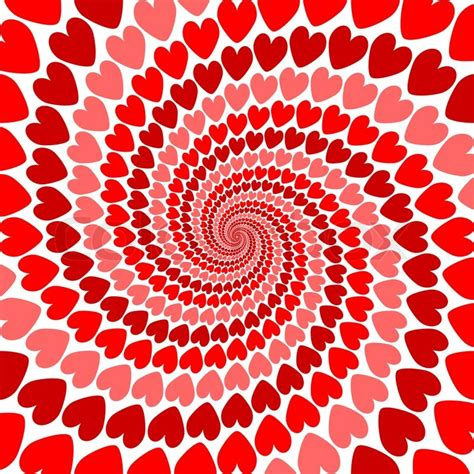 valentines day card background design whirl movement background valentines day