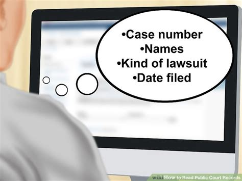 Municipal Court Records How To Read Court Records 10 Steps With Pictures