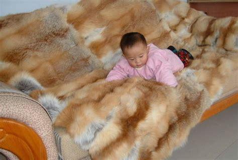 Gc Laurel Fhasion Five Supplier fur throw fur comforter fur blanket fur rug shanghai