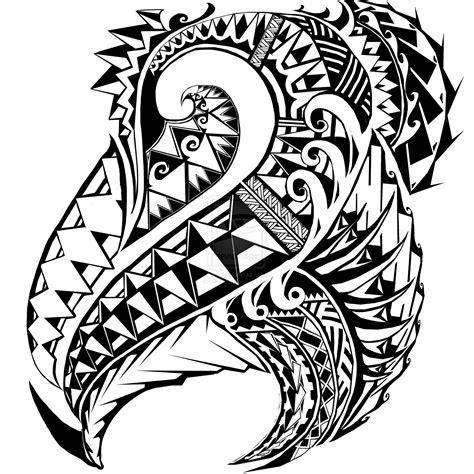 somoan tribal tattoo pin tapa on
