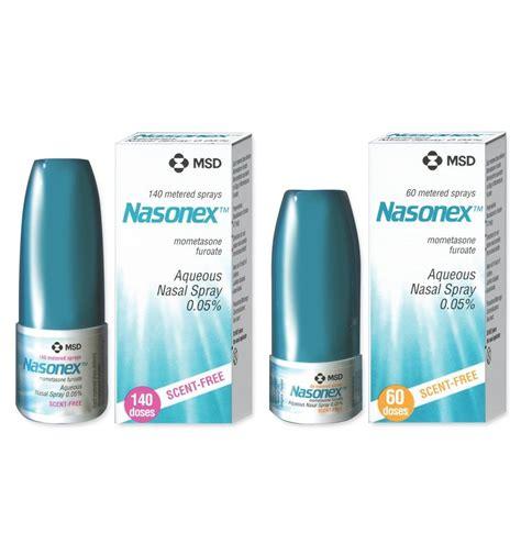 Nasonex Shelf by Nasonex Dosage Information Mims Thailand