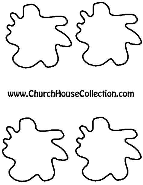 hamburger template printable church house collection hamburger printable cutout
