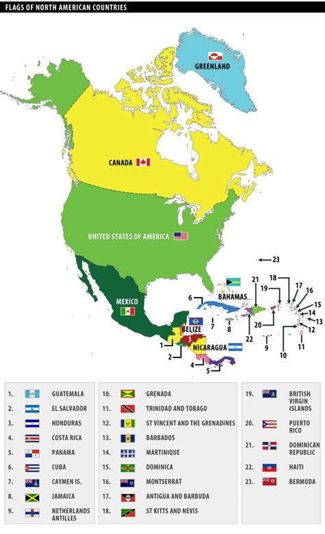 america map with country names 25 best ideas about flags of the world on