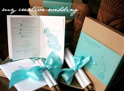 Bamboo Scroll Wedding Invitations