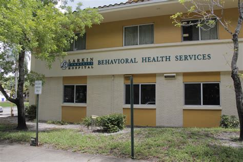 Detox Centers In Broward County by Our Facility Larkin Behavioral Health Services
