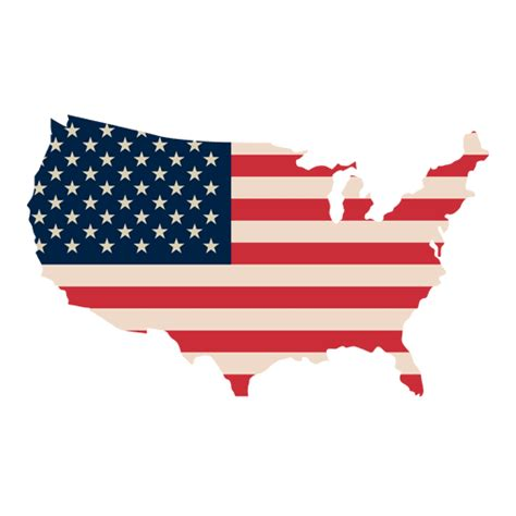 america map transparent usa flag print map transparent png svg vector