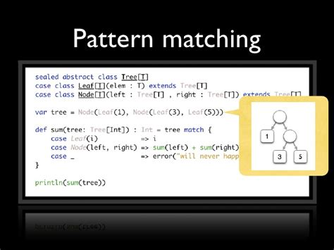 pattern matching programming languages scala functional programming for the imperative mind