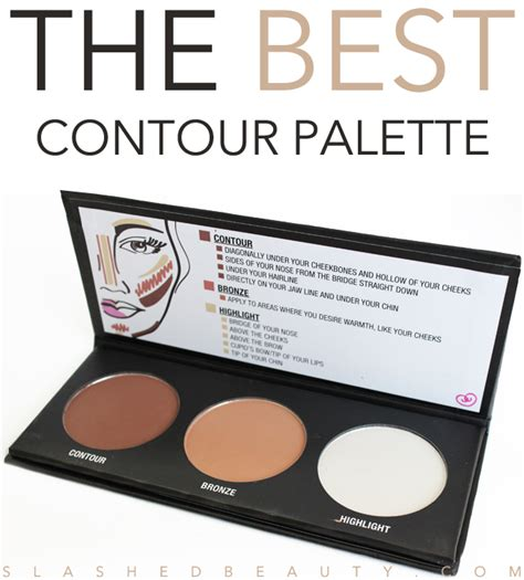 City Color Concealer And Contour Palette 100 Original review city color contour effects palette slashed