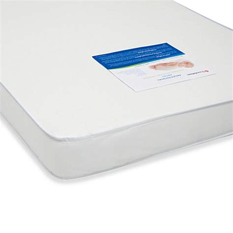 Length Of Crib Mattress Buy Foundations 174 Professional Series 3 Inch Size Crib Mattress From Bed Bath Beyond