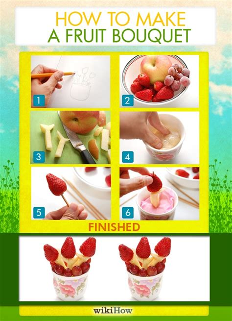 how to make a fruit centerpiece how to make a fruit bouquet