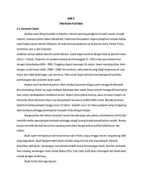 Daftar Minyak Kelapa Sawit pemanfaatan limbah inti kelapa sawit