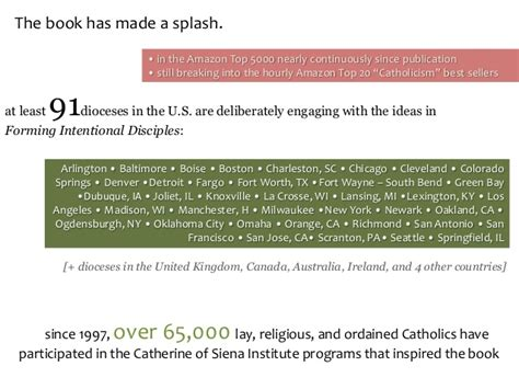 forming intentional disciples the catholic discipleship and quot forming intentional disciples quot