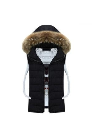 Cyber Coofandy Mens Sleeveless Hooded Outwear Jacket Vest Apricot korean mens fashion slim sleeveless hooded casual warm winter vest