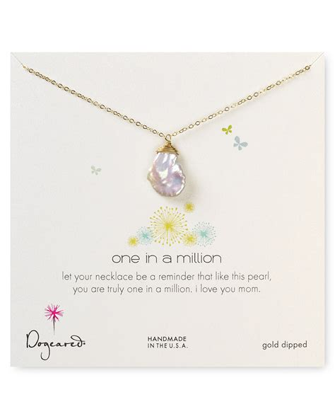 dogeared one in a million keshi pearl necklace 18
