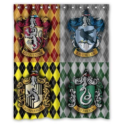 harry potter curtains popular harry potter bathroom accessories webnuggetz com