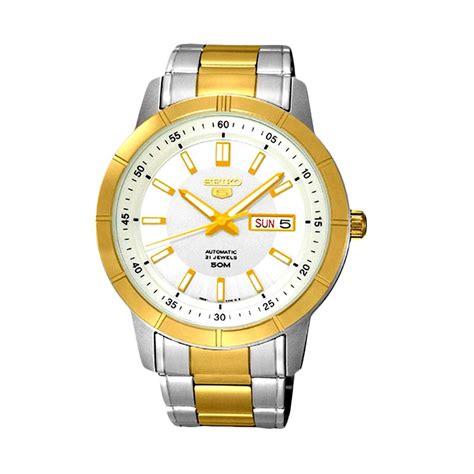 Jam Tangan Seiko 5 Wanita Tanggal Hari Aktif Itkombinasimewah jual seiko 5 automatic snkn58 silver jam tangan pria harga kualitas terjamin blibli