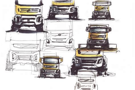 volvo truck design carscoop volvo trucks new fmx design