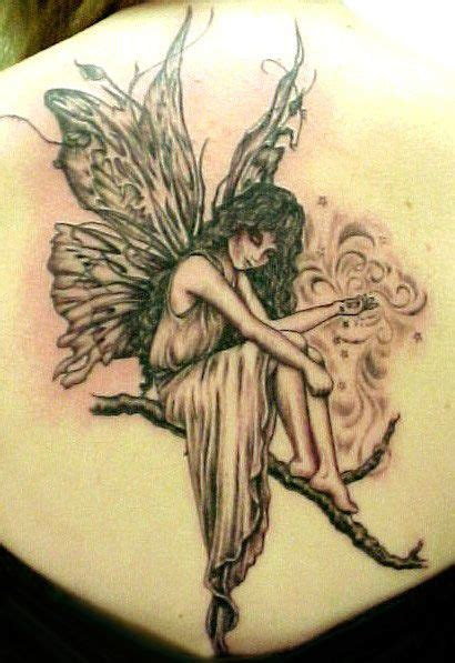 angel tattoos for women design