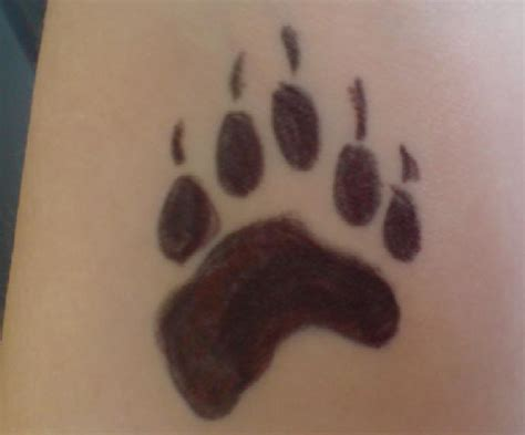 test tattoo test two paw by tazimo on deviantart