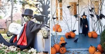90 Cool Outdoor Halloween Decorating Ideas Decorative Outdoor Halloween Decorations Ideas Iroonie Com