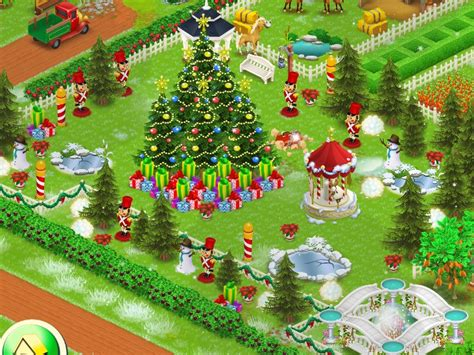 design hay day terbaik buy your first christmas tree and snow man in hay day