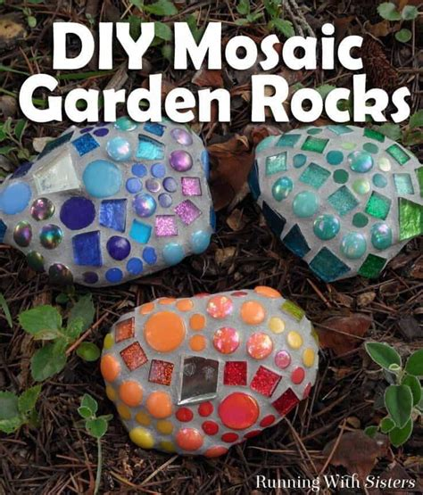 Craft Mosaic Tiles by Mosaic Garden Rocks How To Make Garden Mosaics