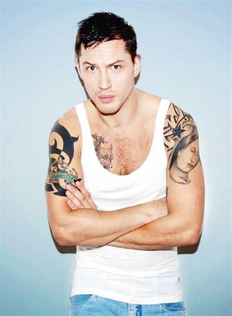 tom hardy young color tank top tom hardy pinterest