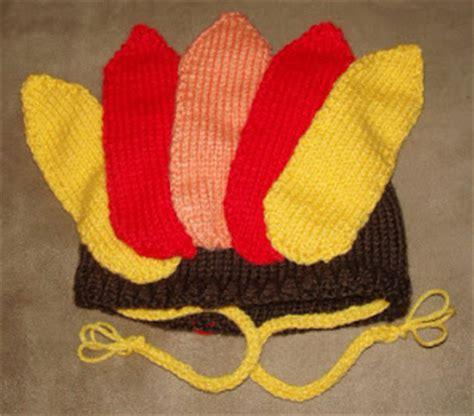 knit turkey hat pattern beadwhore knitting gobble gobble thanksgiving turkey hat