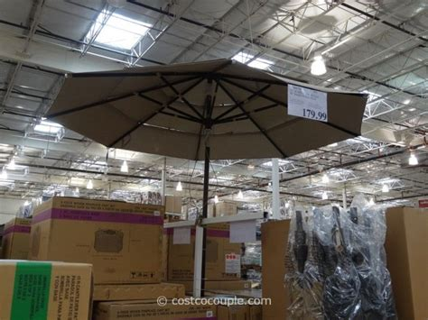 Costco Patio Umbrella 11 Ft Market Umbrella