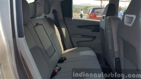 Mahindra KUV100 rear seats first drive review   Indian