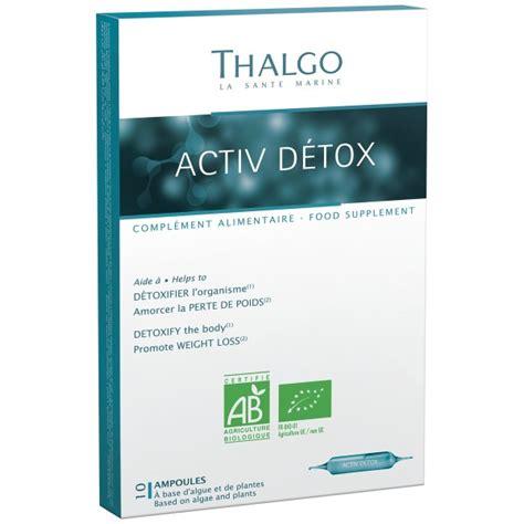Thalgo Detox Reviews by Thalgo America Thalgo Activ Detox Drink 10 X 34 Fl