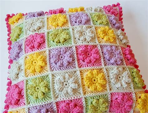Crochet Pillow Patterns by